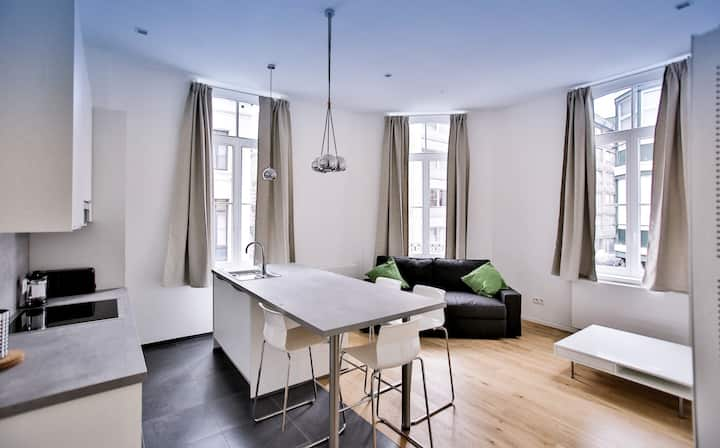In trendy Chatelain area Apartment 1st floor