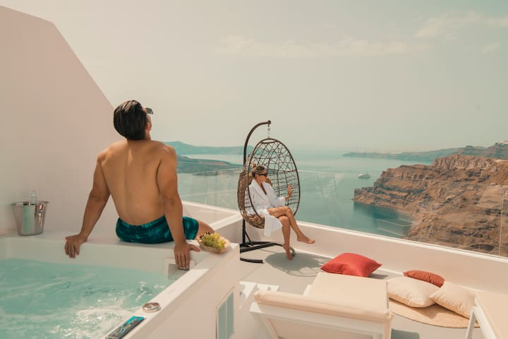Juno Suite Caldera Sea View & Prive Jacuzzi