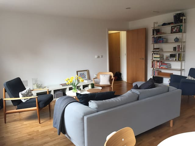 Cosy & spacious flat, 1 stop from St Pancras