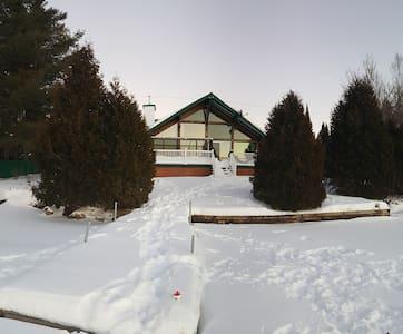 Cottage on Lac Quenouilles - Tremblant - Val-des-Lacs - Dağ Evi