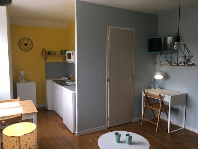 studio scandinave - Chaumont - Apartament