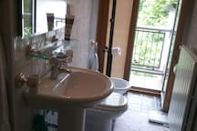 the Private ensuite Bathroom (it also has a shower, of course!)