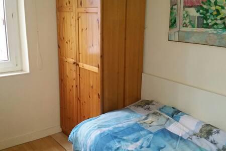 Chambre dans un appartement chaleureux - Nanterre