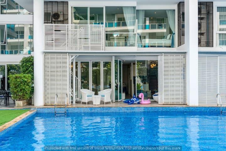 Pool access★Family room★My Resort Hua Hin★4 BR