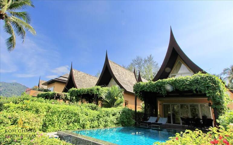 Koh Chang Beach Villas - Holiday Pool Villa 61D