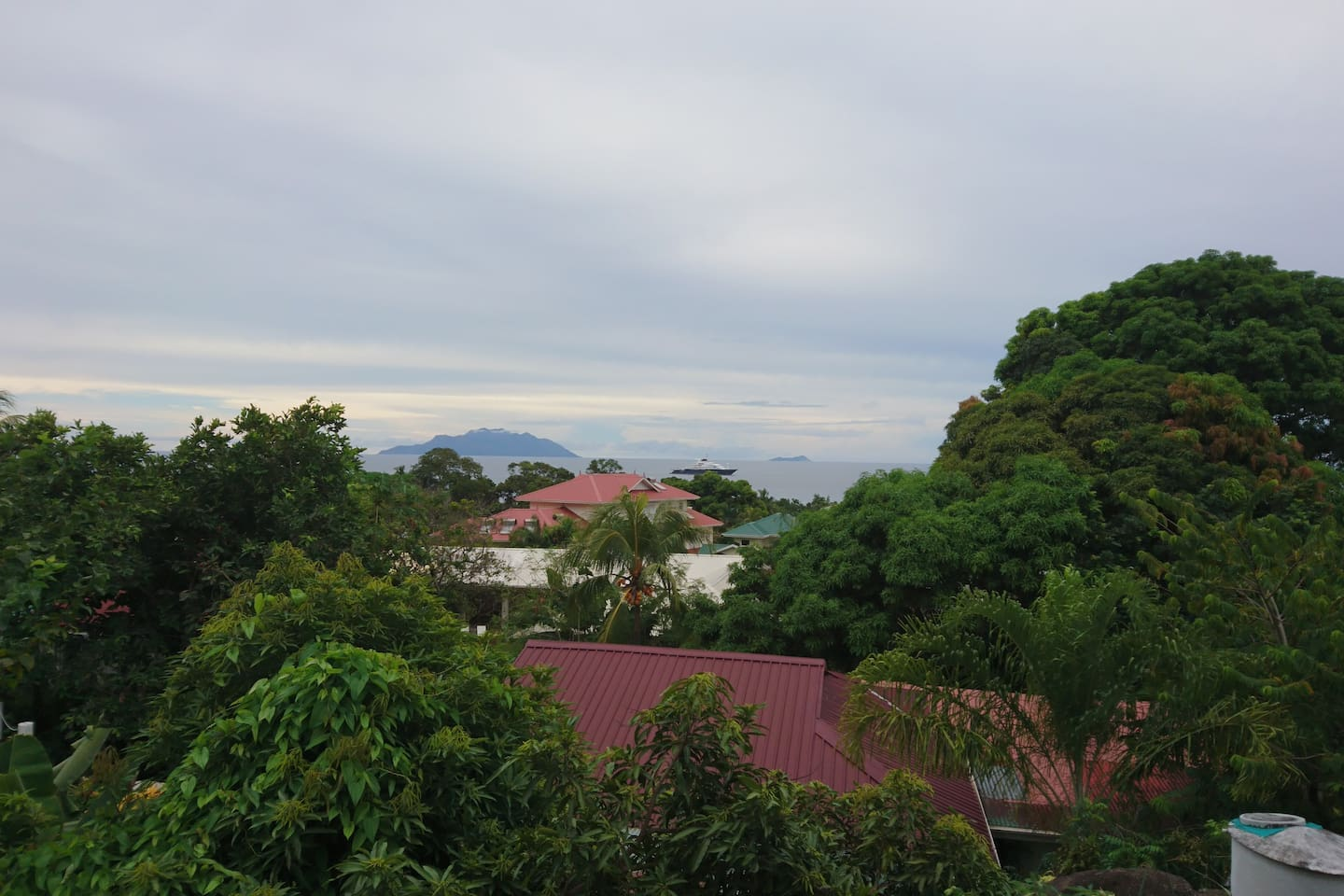 View from bedroom & balcony