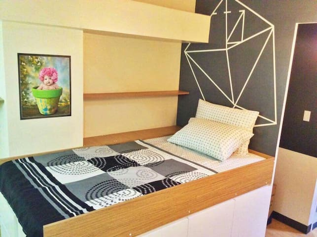 Fully Furnished Two-Bed Studio Type Apartment
