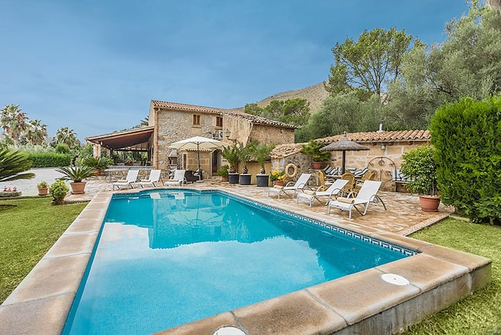 Catalunya Casas: Villa Mossa for 6 guests, only 2 km to Mallorca beaches!