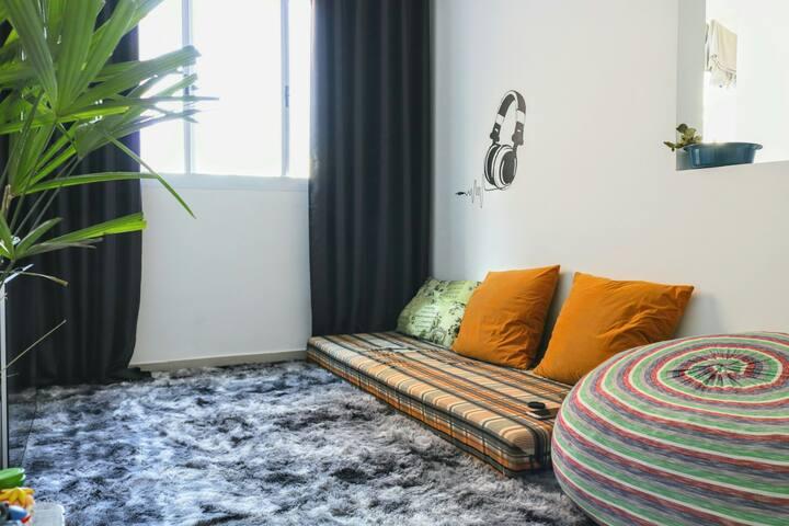 Quarto privado em Apartamento - Jundiai-SP