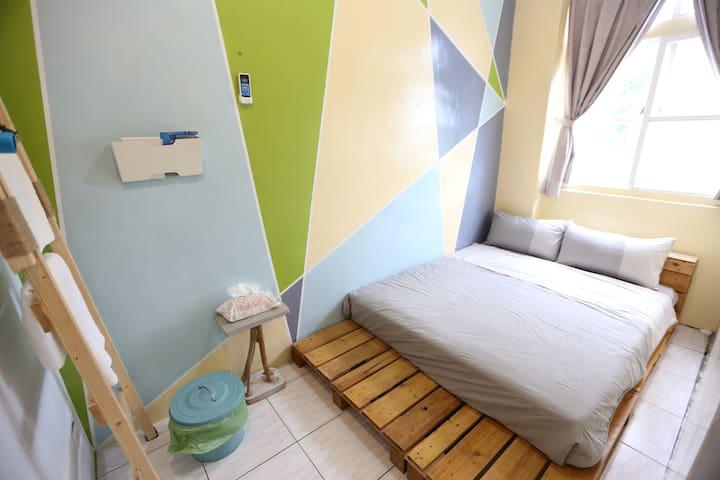 小島生活雙人套房double room