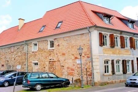 Denkmalgeschütztes Haus, 400 J.alt - Klingenmünster - Rumah