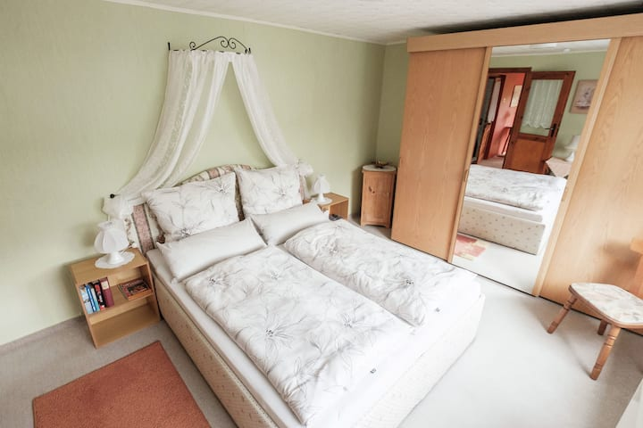 Appartement situé à Güntersberge face au lac de montagne