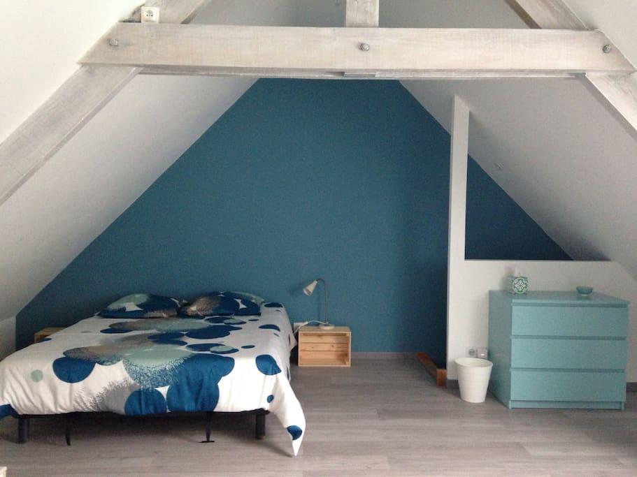 Chambre N°1 Lit double 160 X 200