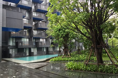 Modern luxury condominium with 2 swimming pools