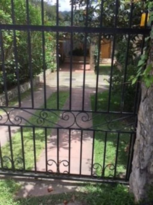 Gated and secure parking