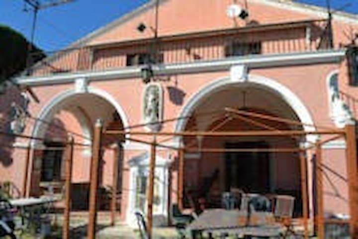 Habitación indiv. turquesa Mansión Premià de Dalt - Premià de Mar Barcelona - Haus