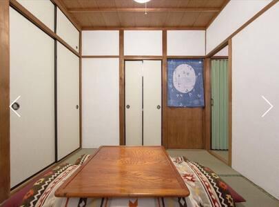 京都駅から電車5分 京阪電車 四宮駅から徒歩1分 古民家ゲストハウス