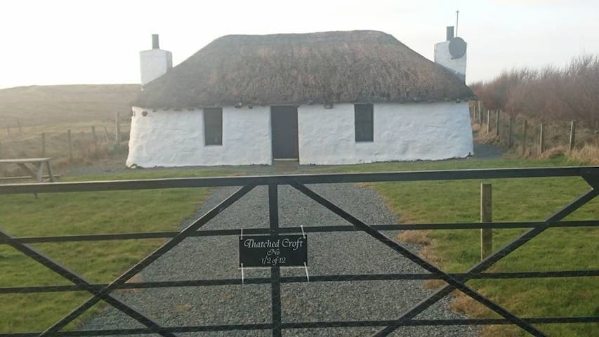 Unique Thatched Cottage 1/2 of 12.