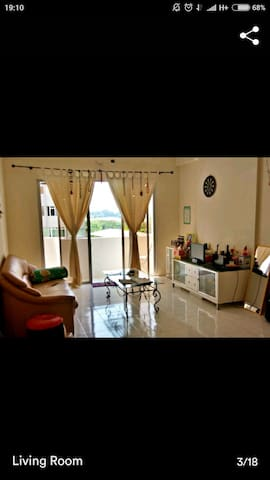 Private Poolview room - Bayan Lepas - Daire