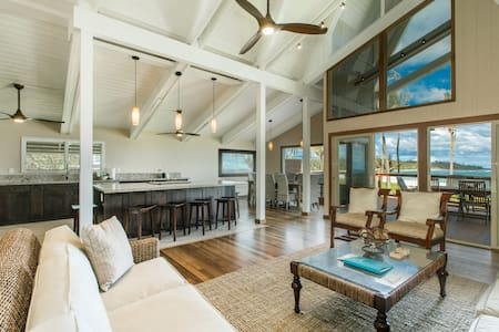 Newly Renovated Beachfront Property