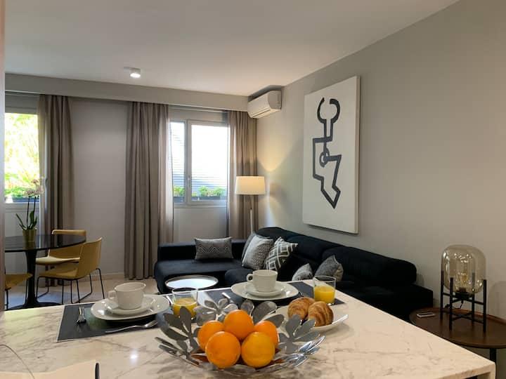 Moderno y acogedor apartamento en el centro.