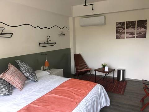 Rinconada Hotel (habitación King)