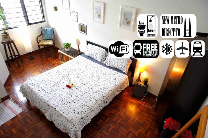 SANITIZE - COZY ROOM Near 1U / IKEA& UPtOWn DMSRA