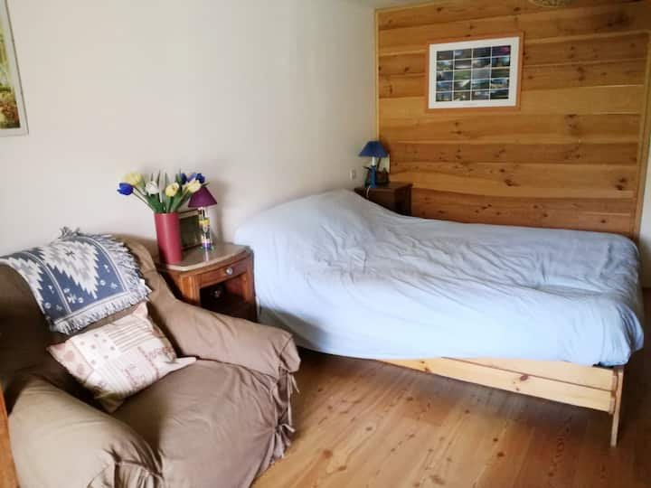 Chambre avec vue sur le lac de Serre-Ponçon !