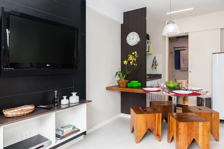 2 Bedrooms flat in Barra (ap.105)