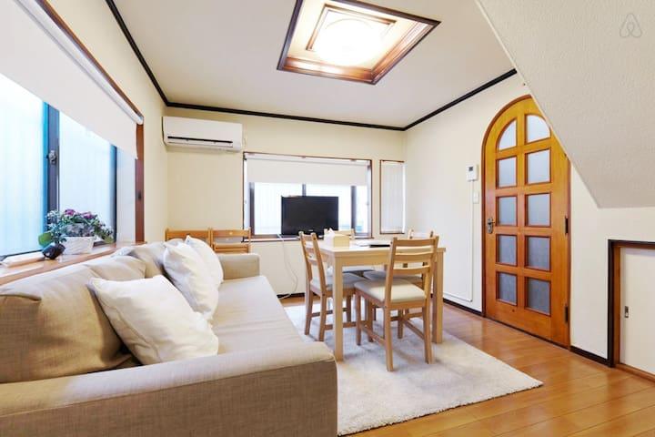 Traditional Japanese house Roppongi - Minato-ku - Huis