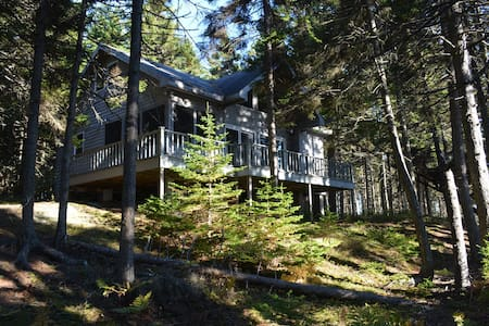 Cottage in the Woods (Sand Beach Road) - Stonington - Casa de campo