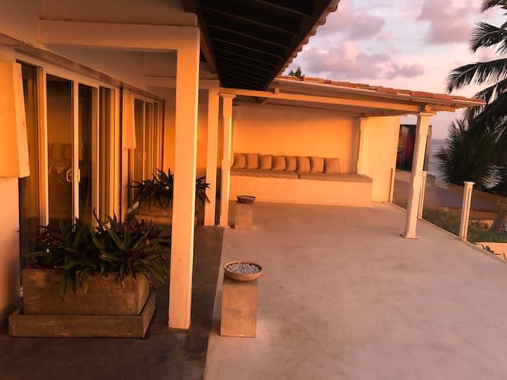 Sea View Rooms with A/C on Unawatuna Beach