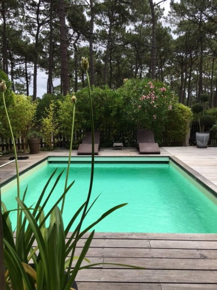 Villa avec piscine  Lacanau 0céan