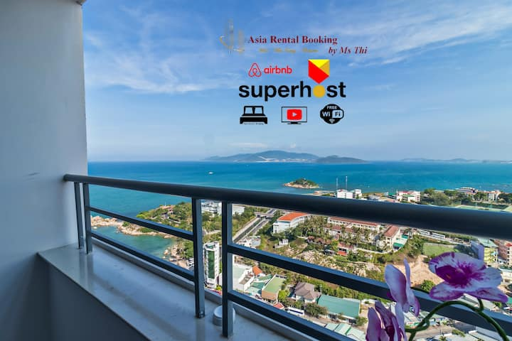 Panoramic Sea & City View Apartment (324)