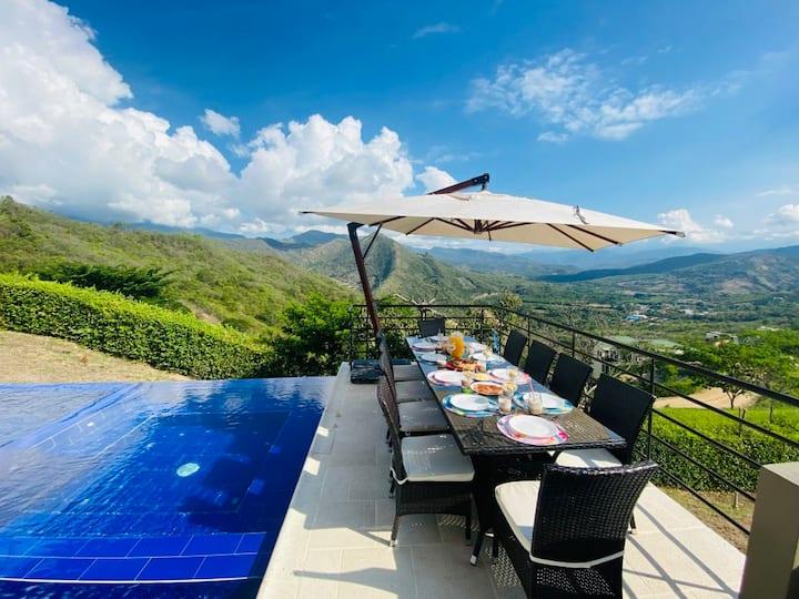 Casa de verano de lujo con vista 360º Anapoima