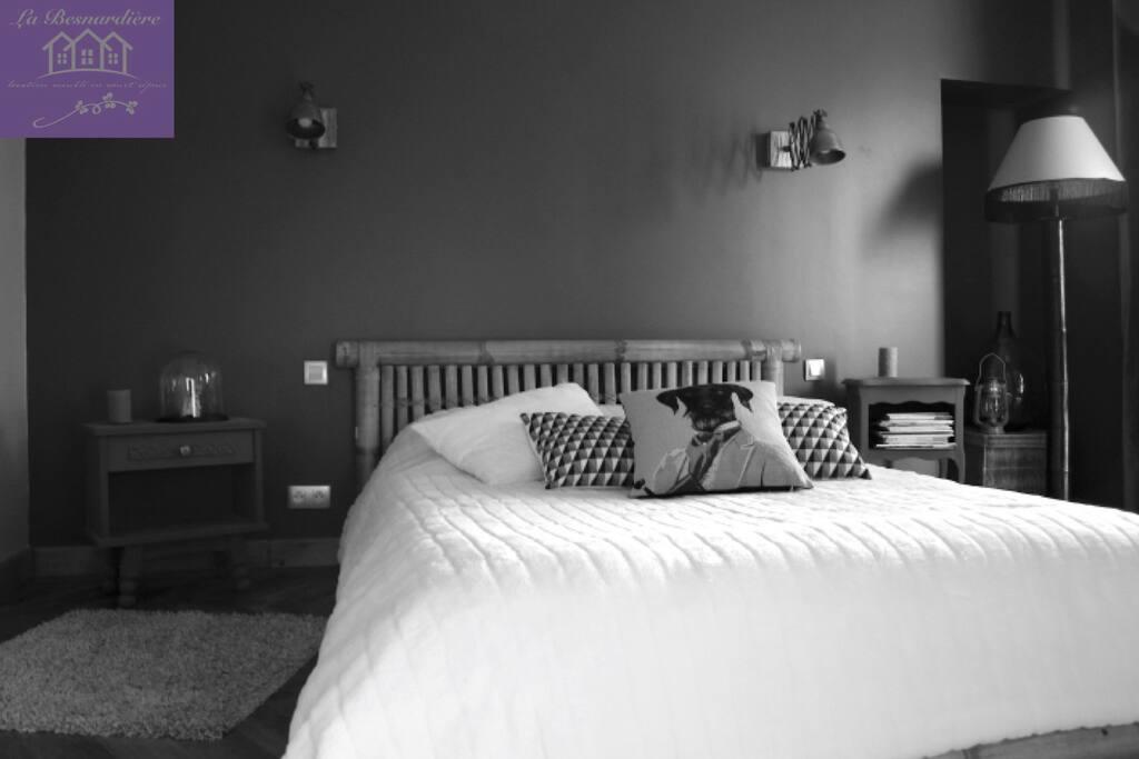 La chambre de «l'appartement»