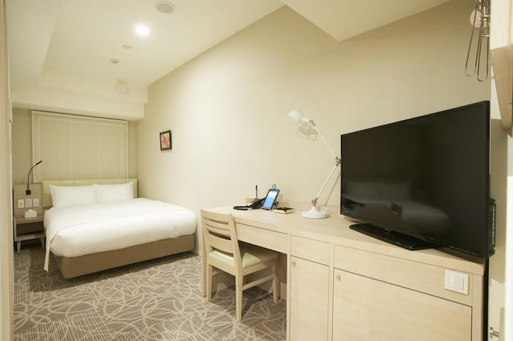 A revitalizing stay in Tokyo ! Non-smorking single room