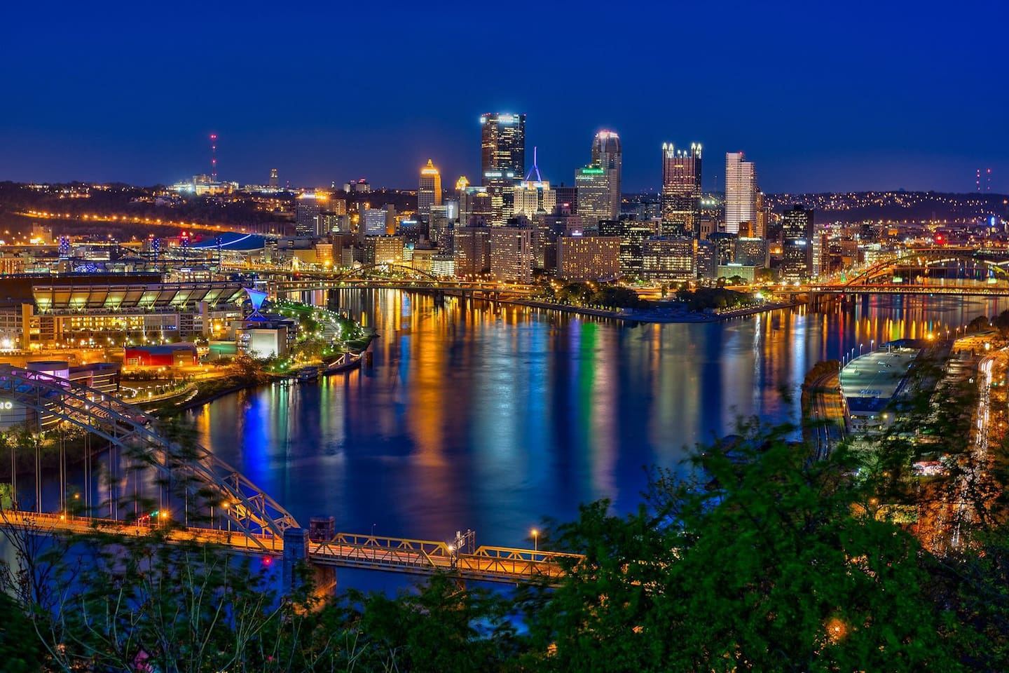 The beautiful City of Pittsburgh!
