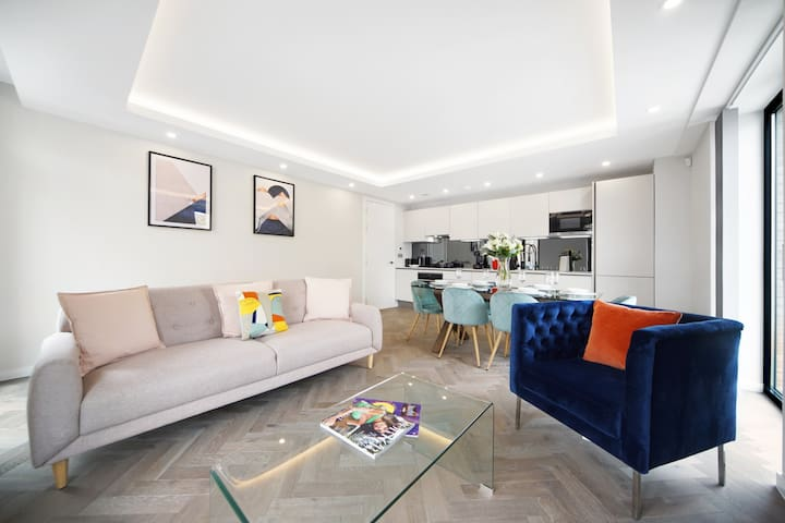 Luxury 1 bedroom property in Fulham Broadway