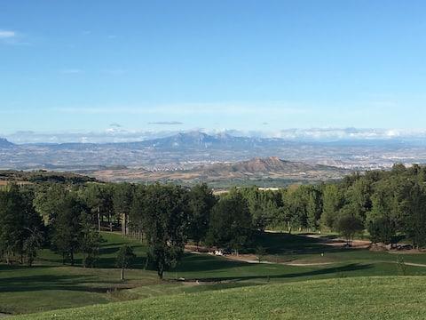 Vue imprenable sur la Vallée de la Rioja