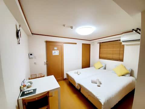 Cleaning¥0!三宮10min  Takaraboshi room201高速Wi-Fi
