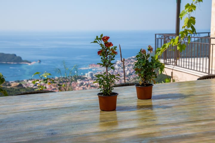 Panoramic Villa With Private Pool and Sea View