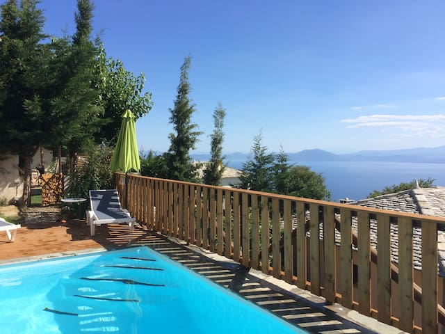 PELION HOMES | VILLA THALIA  traditional with pool - Agios Georgios Nilias - Villa
