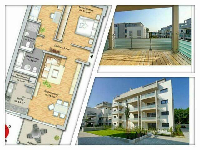 1-Zimmer - TOP Lage zur für Wiesn-Bedienungen - Unterschleißheim - Byt