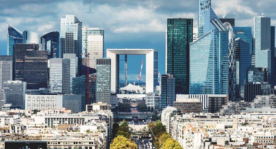 Appartement à la défense Paris à 5 min de U Arena
