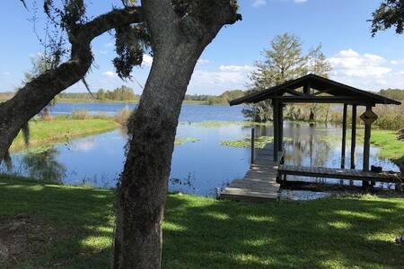 Cabin on Private Lake Bradley