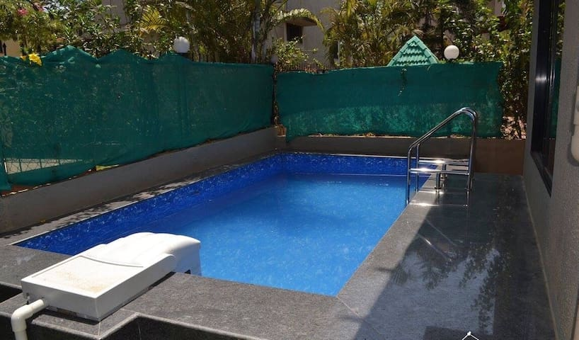 Mount Palace private pool 4 bhk entire bungalow