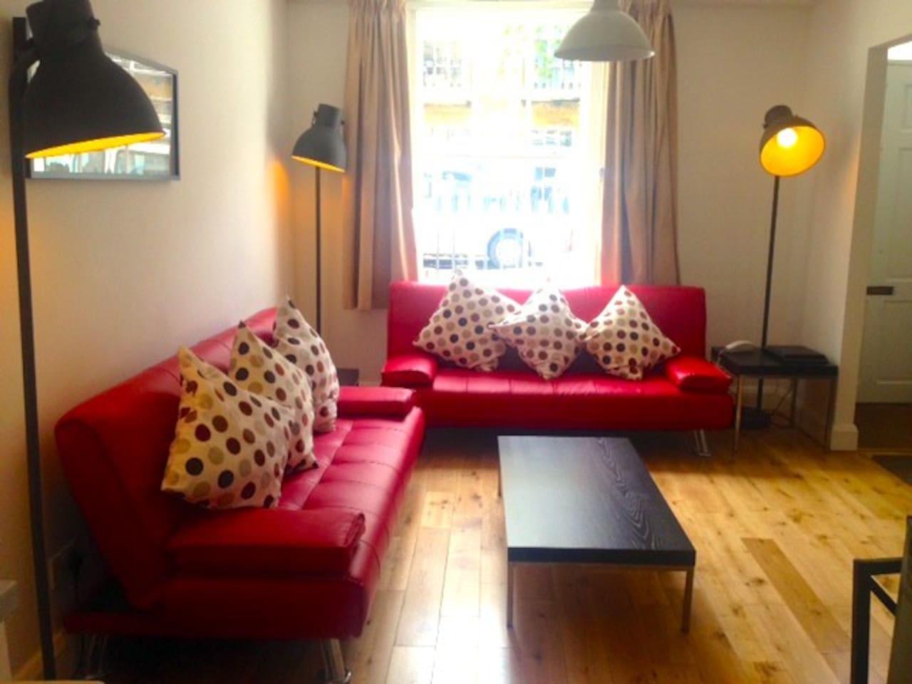 Flat 34's Living room