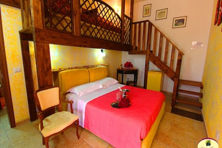 B&B Antiche Macine - Camera quadrupla - Ruggiano - Bed & Breakfast