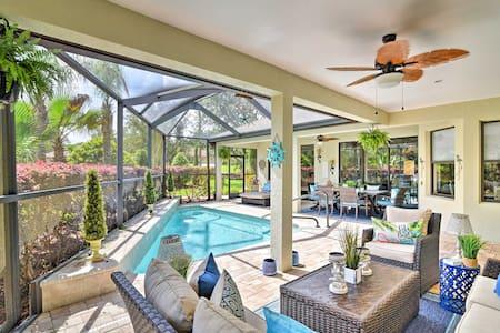 Luxury Homosassa Home w/ Pool & Outdoor Kitchen!